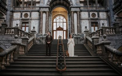 Stefanie + Thomas | Stylish city wedding in Antwerp