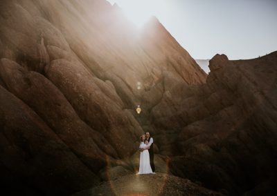 Adventurous Morocco elopement in the Atlas Mountains